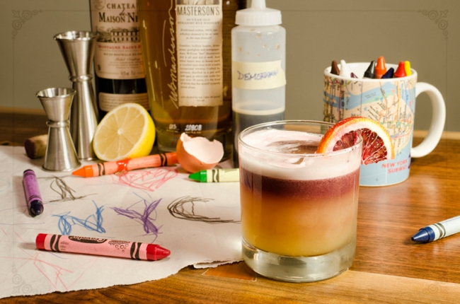 Paternal Drunk - Post 6 - New York Sour - S