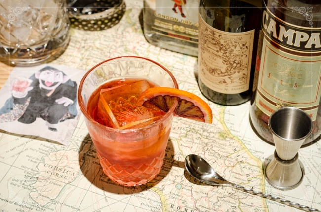 Paternal Drunk - Post 7 - Negroni - S