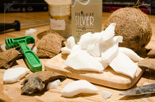 Paternal Drunk - Post 36 - DIY Coconut Rum - S